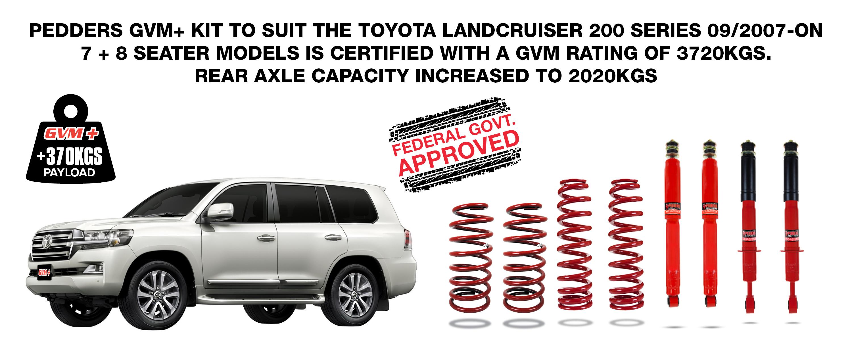 Toyota Landcruiser 200 7/8 seater