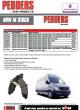 Pedders Brake Pads & Rotors MERCEDES BENZ Sprinter