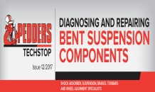 Pedders Techstop 12 - Diagnosing Bent Steering and Suspension Components Using Steering Geometry Angles