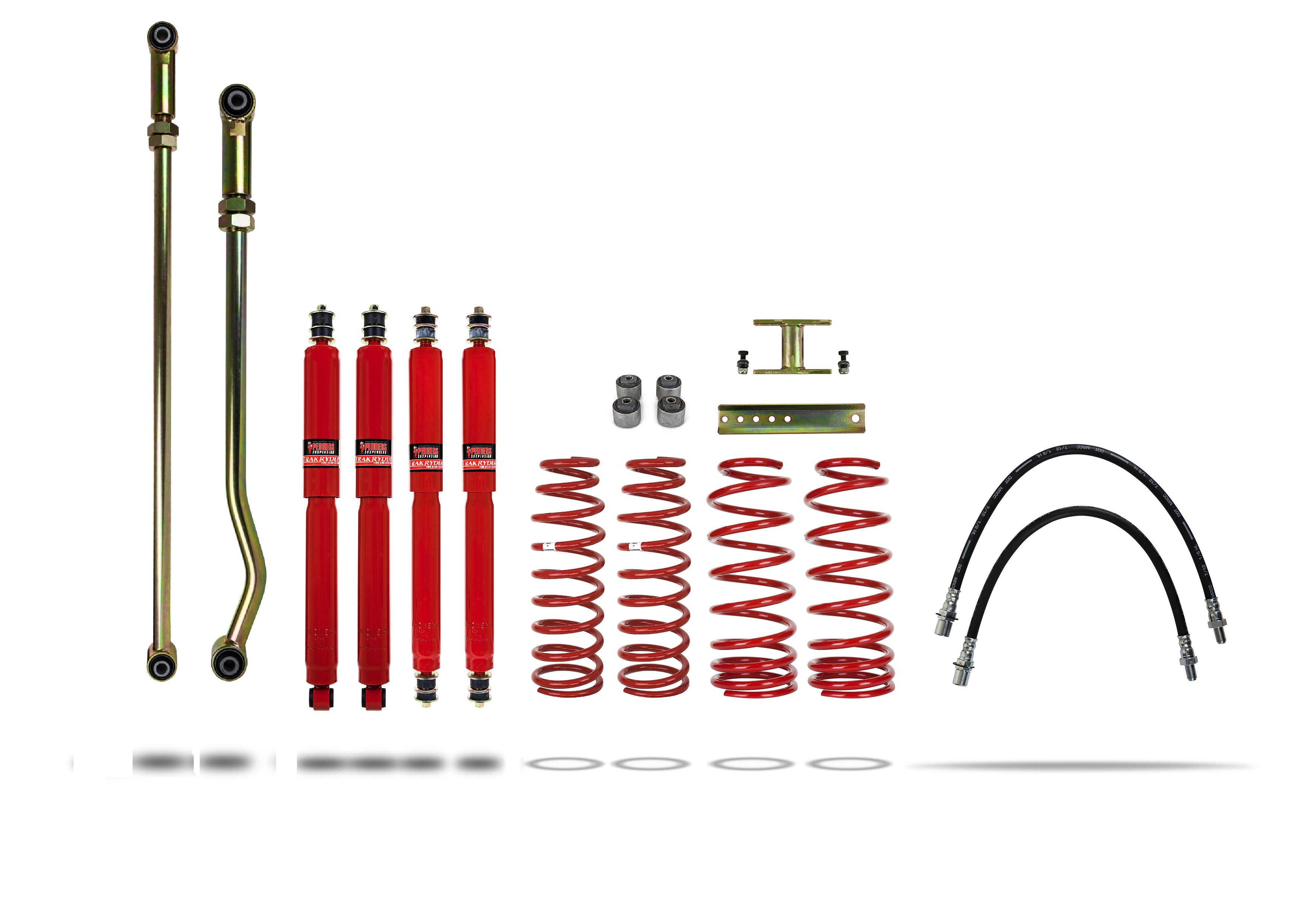 "Pedders 4""e; Lift Kit 1992 -1998 FZJ80 & HDJ80-HZJ80 ABS 919047-4"