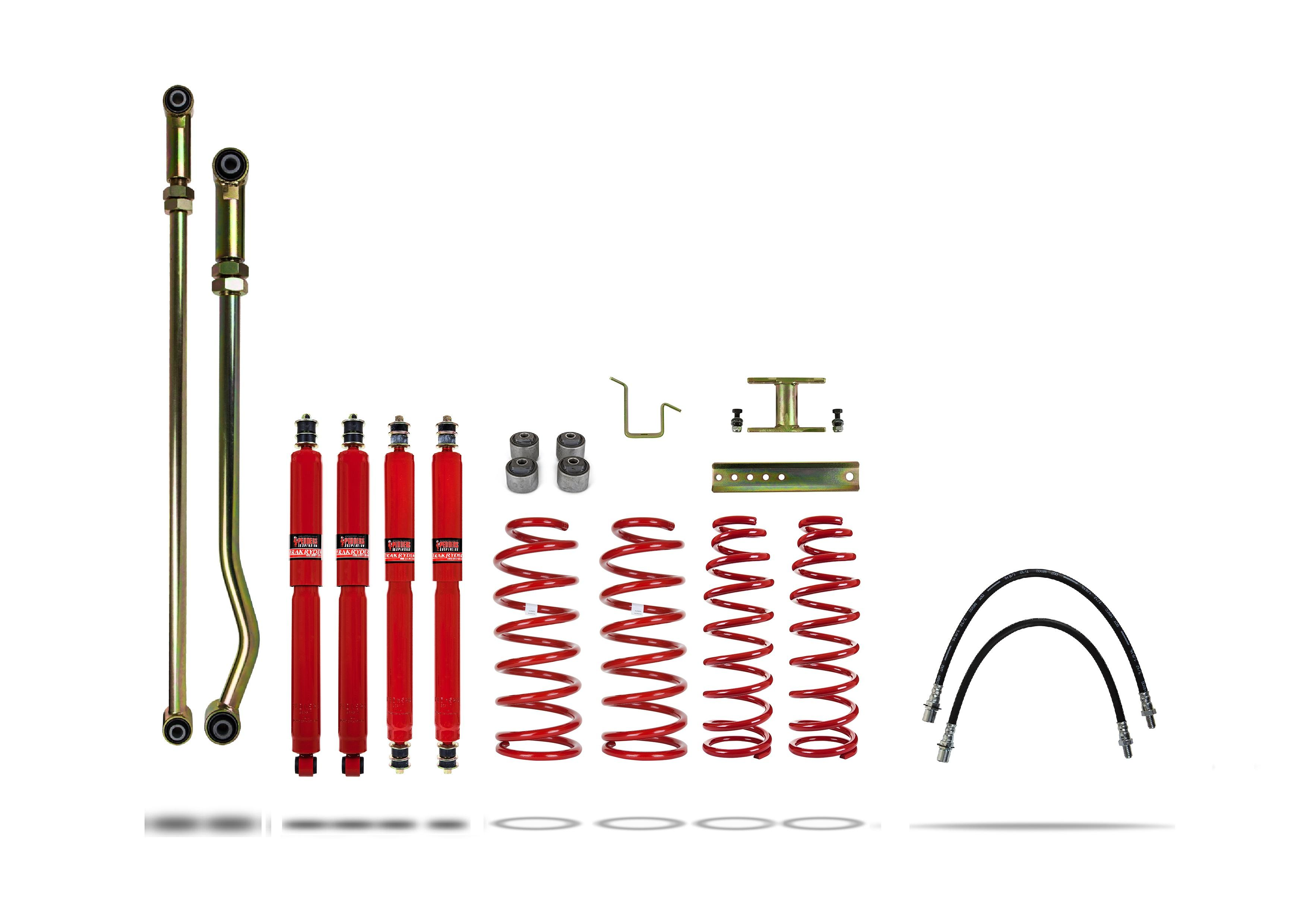 Pedders 4&quote; Lift Kit  ABS 919137-2