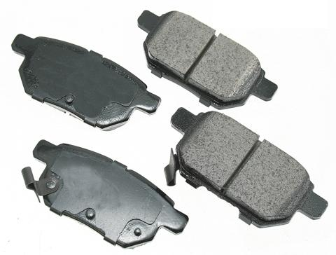 Premium Low Dust Brake Pads PACT1354